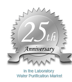 25th Anniversary in Laboratory Water Purification Market